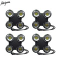 4 шт./лот 4x100 Вт IP65 Водонепроницаемый 4 глаза COB свет для аудитории свет для сцены 400 Вт COB DMX dj свет открытый стробоскопический свет для сцены