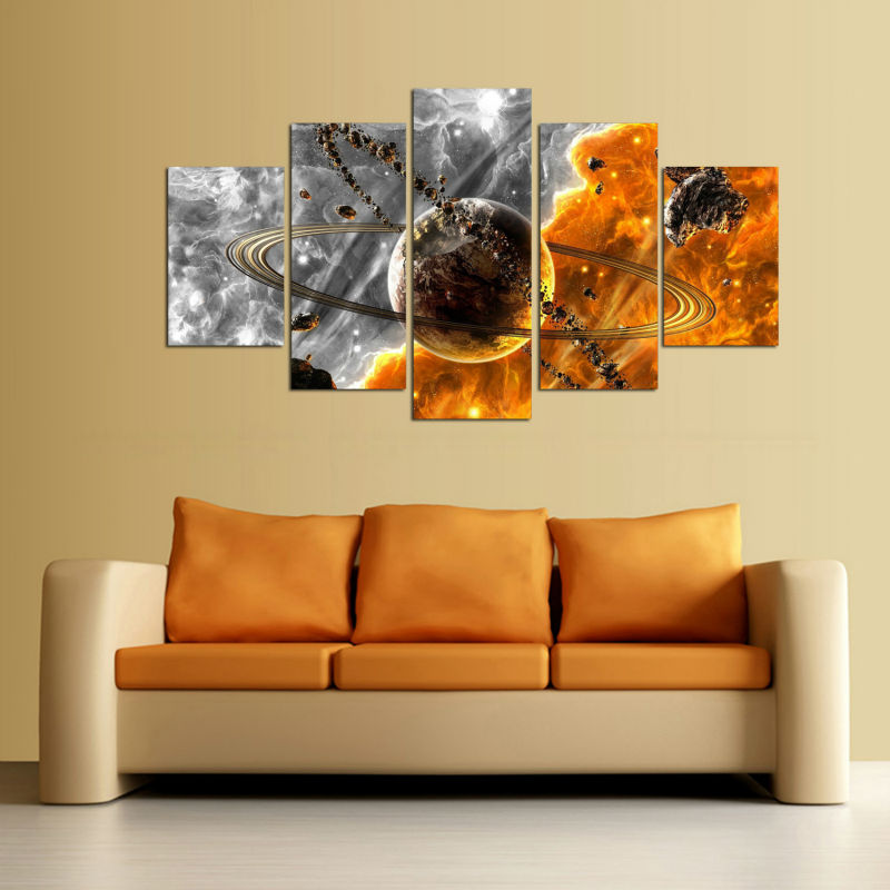 Fancy Solar System Wall Decor Mold - Wall Art Collections ...