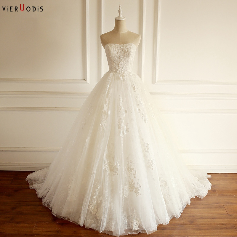 Us 2089 2019 New Arrival Vestido Novia Playa Sexy Strapless Easy Change Lace Up Back Cheap Wedding Dresses With Free Shipping In Wedding Dresses