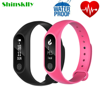M2 Plus Waterproof Smart Band Heart Rate Monitor Pedometer Anti Lost Reminder Fitness Tracker Pedometer For