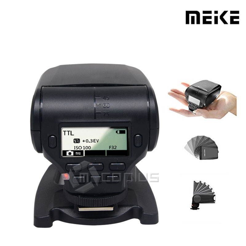 Meike MK320 MK-320 TTL Flash HSS Master (GN32) Speedlite for Sony A7 A7 II A7S A7R A6000 A5000 NEX-7 NEX-6 NEX-5R NEX-5T NEX-3 bote visto desde abajo del agua