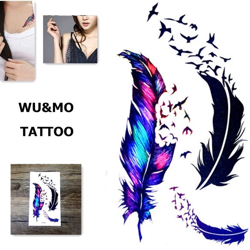 10.5x6 см Новые продукты секса Дизайн Моды Временные Татуировки Наклейки Временная Body Art Водонепроницаемый Татуировки Шаблон RC2239