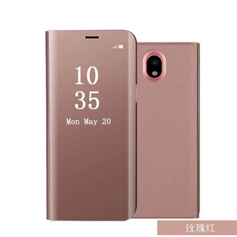 Flip Stand Smart Spiegel Telefon Fall Für Oneplus 6 Huawei Mate 20 Lite P20 P10 P9 Abdeckung Für Samsung S9 s8 Hinweis 9 A5 2017 LG V40