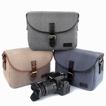 955625dc9829 Ретро DSLR Камера сумка Фото сумка чехол для ЖК-дисплея с подсветкой  FUJIFILM X-