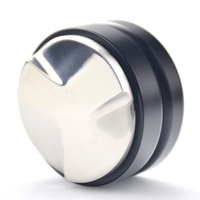 Creative Adjustable Ripple Coffee Tamper 58MM Barista Convex Coffee Distributor Maracoon Espresso Coffee Maker