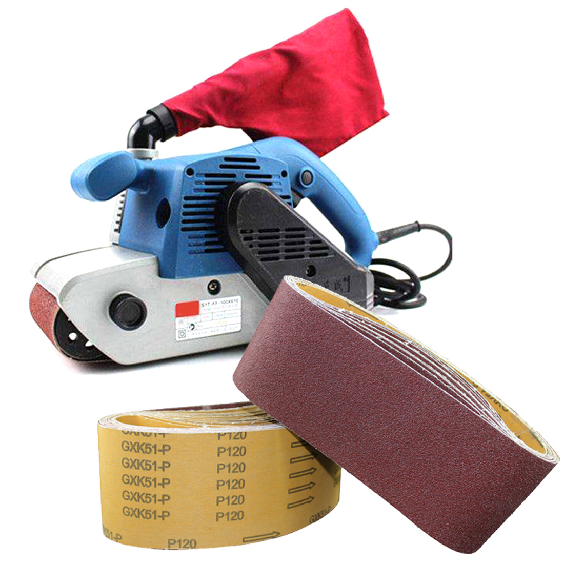 Sander Grinder Belt For Drill Grinding Polishing Power Tool Accessories  Sanding Belt