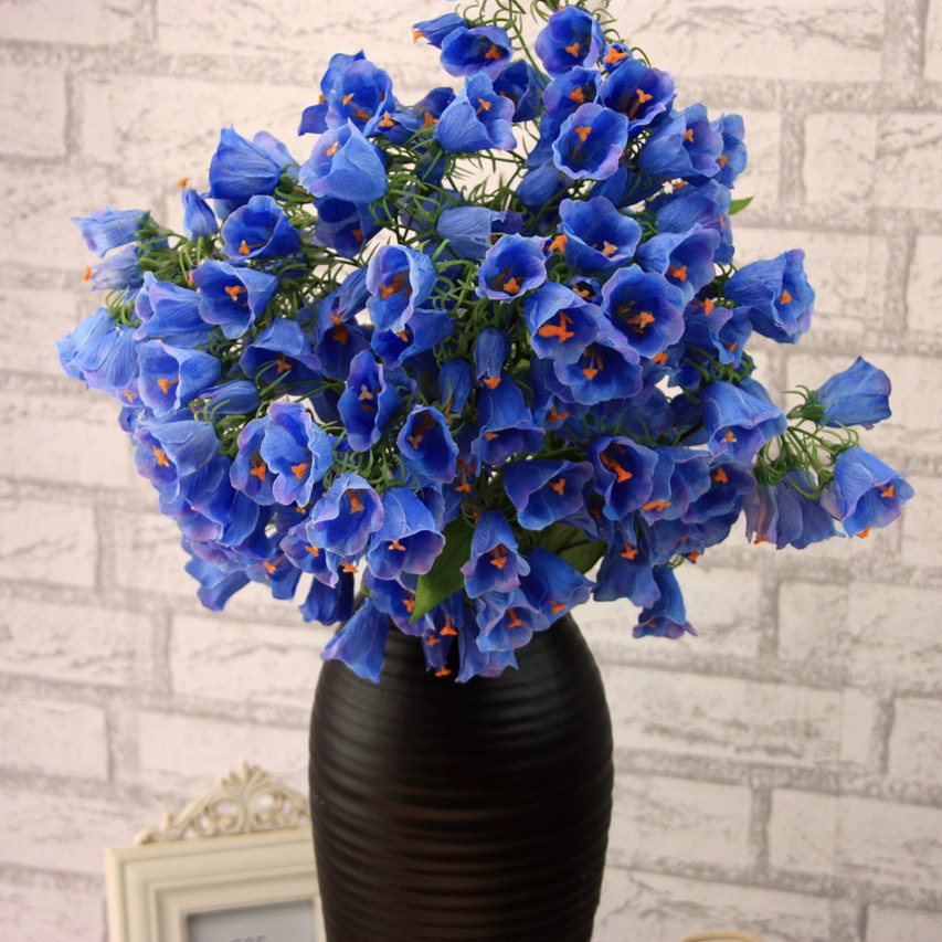 High quality artificial flowers desktop decor silk flower posy high quality artificial flowers desktop decor silk flower posy simulation fake plant wedding home decor supplies without vase in artificial dried mightylinksfo Gallery