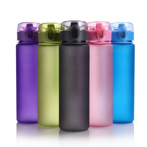 400ml/560ml BPA Free Leak Proof Sports Water Bottle High Quality Plastic Drinkware Tour Hiking Portable Climbing Water Bottles Pakistan