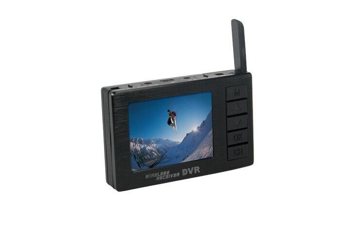 BOSCAM DV01S FPV 8 Channel 5.8G Wireless Receiver DVR Wireless Audio boscam fpv 5 8g wireless audio video receiver receiving module rx5808