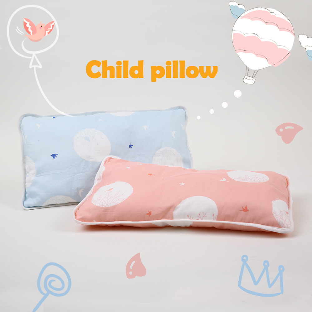цена на i-baby Baby Pillow Baby Bedding Newborn Pillow Infant Baby Neck Pillow Animal Design Muslin 100% Cotton Crib Bedding Pillow