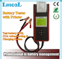 LANCOL 12V Digital Battery Analyzer Automotive Bbattery Tester Car battery Tester MICRO 768 with printer for car repair shop