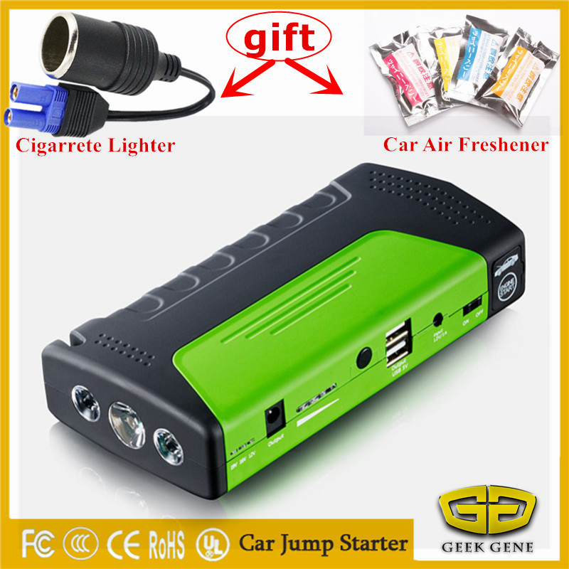 600A Peak Car emergency Jump Starter Power Bank Mini Portable Emergency Battery Charger for Petrol & Diesel Auto Booster Buster 12v portable car jump starter 18800mah car jumper booster power battery charger for mobile phone laptop power bank emergency
