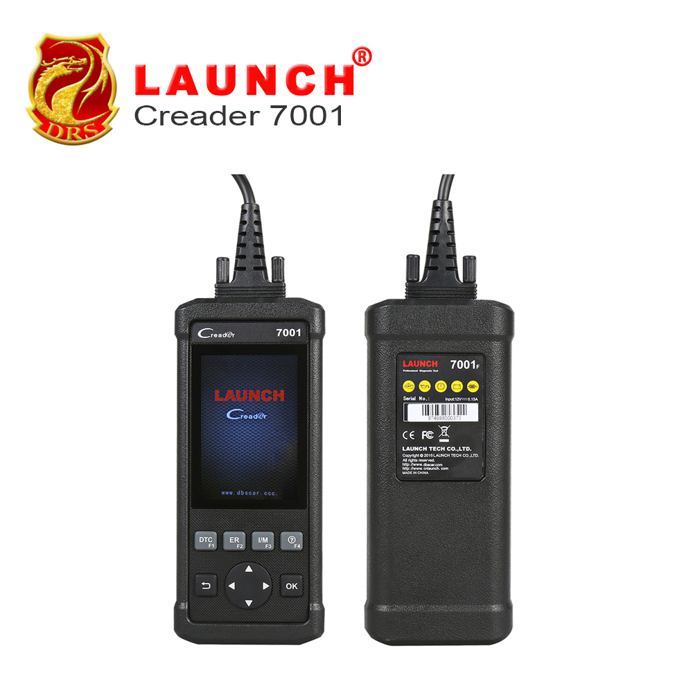 Original Launch DIY Code Reader CReader 7001F Full OBD2 Scanner/Scan Tool with Oil/EPB/BMS/ABS bleeding Resets Service CR7001F