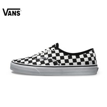 Original Vans New Arrival Black and White Low-Top Unisex Men's and Women's Love's Skateboarding Shoes Sport Shoes Sneakers