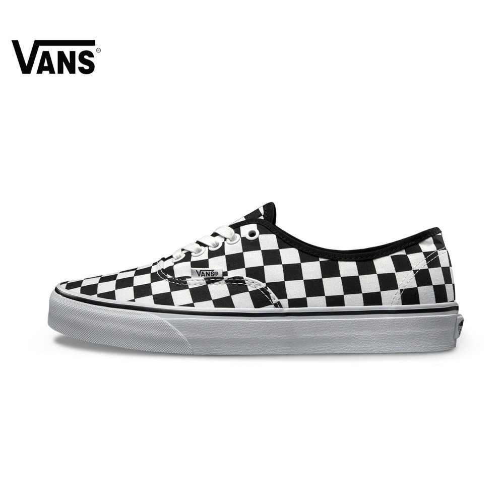 Nueva llegada Original Vans hombres y mujeres auténticos clásicos bajo-top  zapatos de skate zapatillas de9e6d4769d