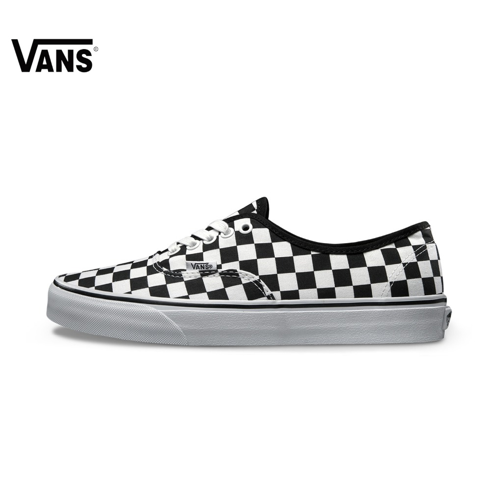 Original Vans New Arrival Black and White Low-Top Unisex Men's and Women's Love's Skateboarding Shoes Sport Shoes Sneakers original vans black and blue gray and red color low top men s skateboarding shoes sport shoes sneakers