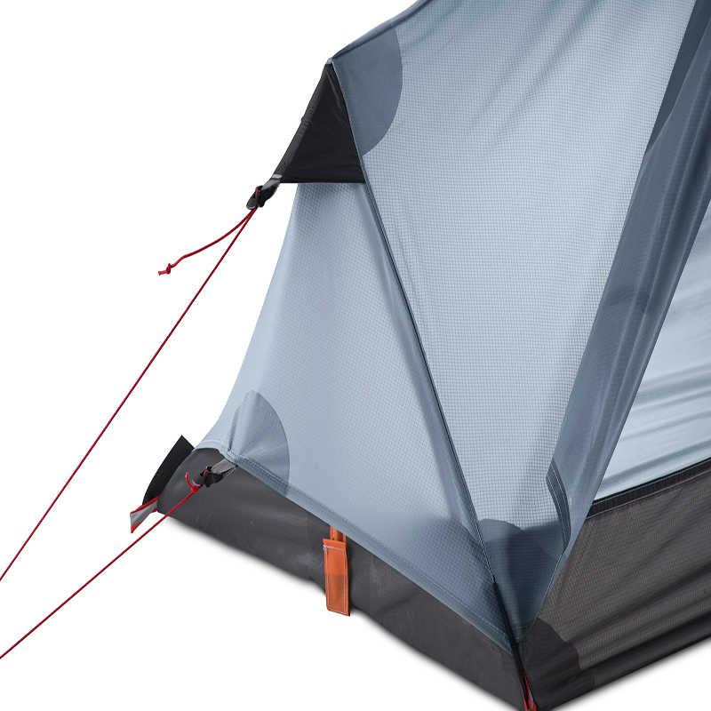 3F UL GEAR Oudoor Ultralight namiot kempingowy 1 osoba profesjonalny 15D nylonowy silikonowy namiot bez sztoku lekki sprzęt kempingowy