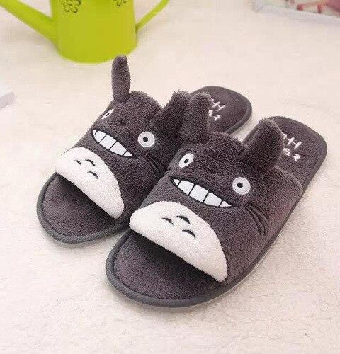 Cute Japanese Totoro Floor Shoes Slippers