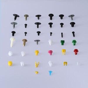 Image 2 - 100/200 шт. универсальные разнообразные автомобильные крепления, фиксаторы для бампера автомобиля, заклепки крепления автомобиля, панель двери, брызговик для всех автомобилей