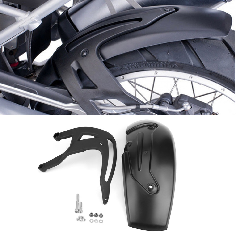 1 Set Universal Motorcycle Rear Hugger Fender Mudguard Mud Flap Splash Guard for BMW R1200 GS LC R1200GS LC Adventure 2013 2018-in Covers & Ornamental Mouldings from Automobiles & Motorcycles    1