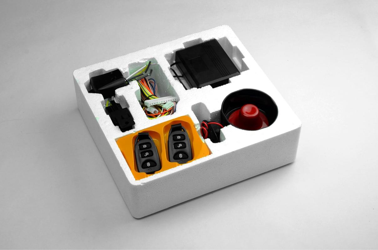 Système d'alarme antivol général système d'alarme de voiture à distance d'excellente qualité alarme antivol Acousto optique avertissement de sécurité de voiture
