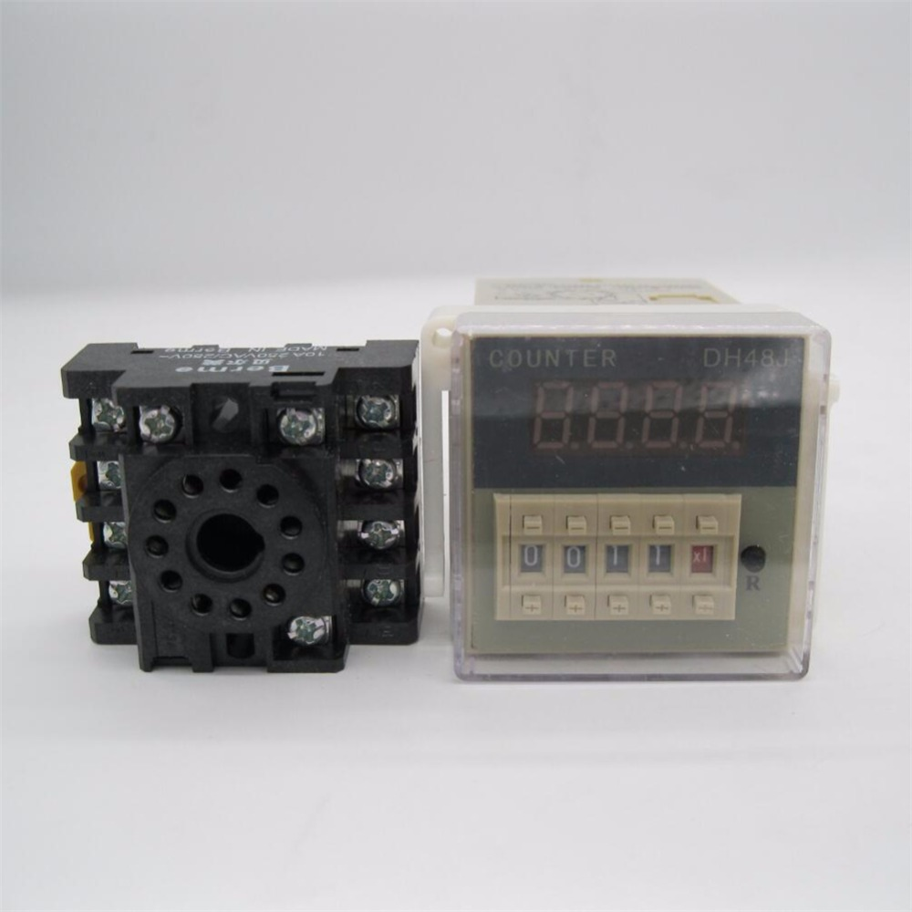12VDC  30 CPS DH48J Digital Counter Relay