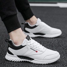 Spring/Autumn 2019 Men Casual Shoes Mixed Colors Fashion Sneakers Flat Platform Breathable Lace-up Outdoor Shoes Man Size 39-44 цена