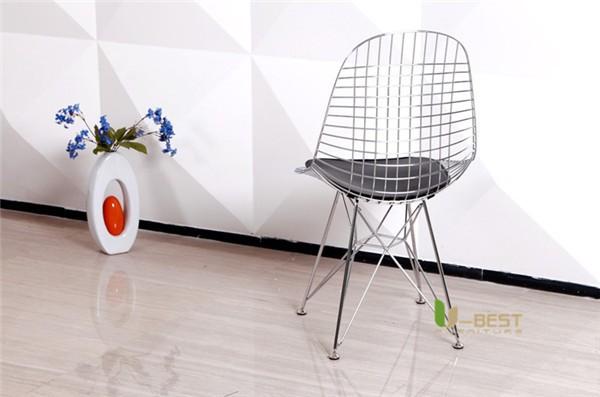 Eames Eiffel DKR Wire Chair Black-2