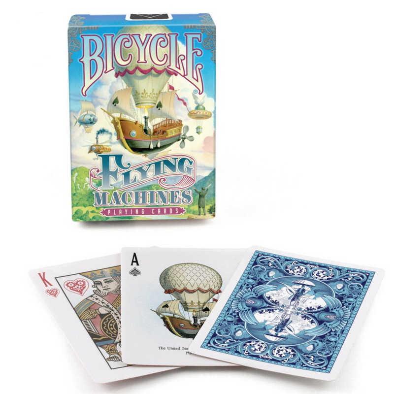 1 колода велосипед летающие машины стандартные покерные игровые карты совершенно новые Волшебные трюки колоды