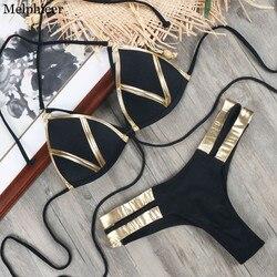 New Sexy Bikini Swimwear Women 2018 Bandage Bikinis Set Push Up Bathing Suit Maillot De Bain Summer Beachwear Swimsuit Biquinis