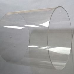 Acrylic Clear Tube OD200X3X1000MM Water Pipe PMMA Building Tube Perspex Process Material Can Cutting Into Any Size