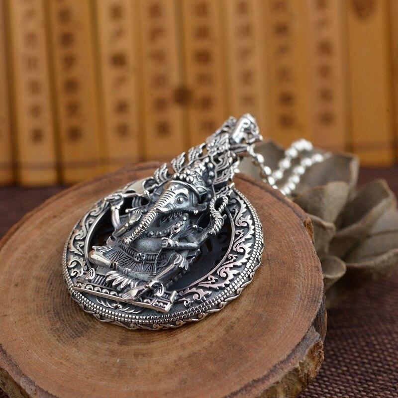 riqueza esterlina deus pingente colar boa sorte riqueza buda amuleto