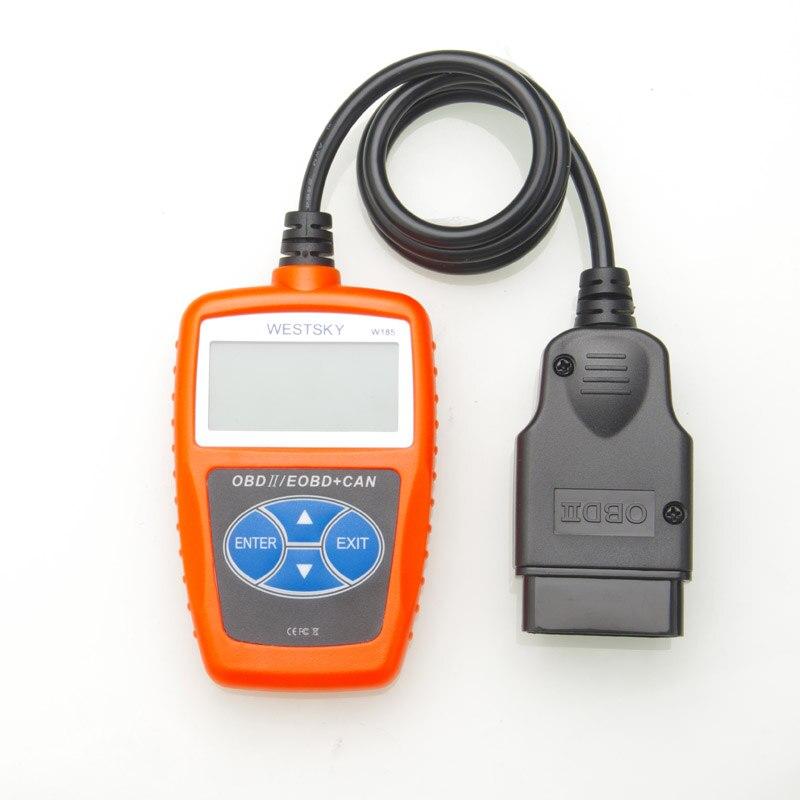 WESTSKY OBD2/EOBD CAN auto Analizador Del Motor de mano Lector de Código Auto Scan Herramienta de diagnóstico Automotriz Scanner nuevo envío gratis