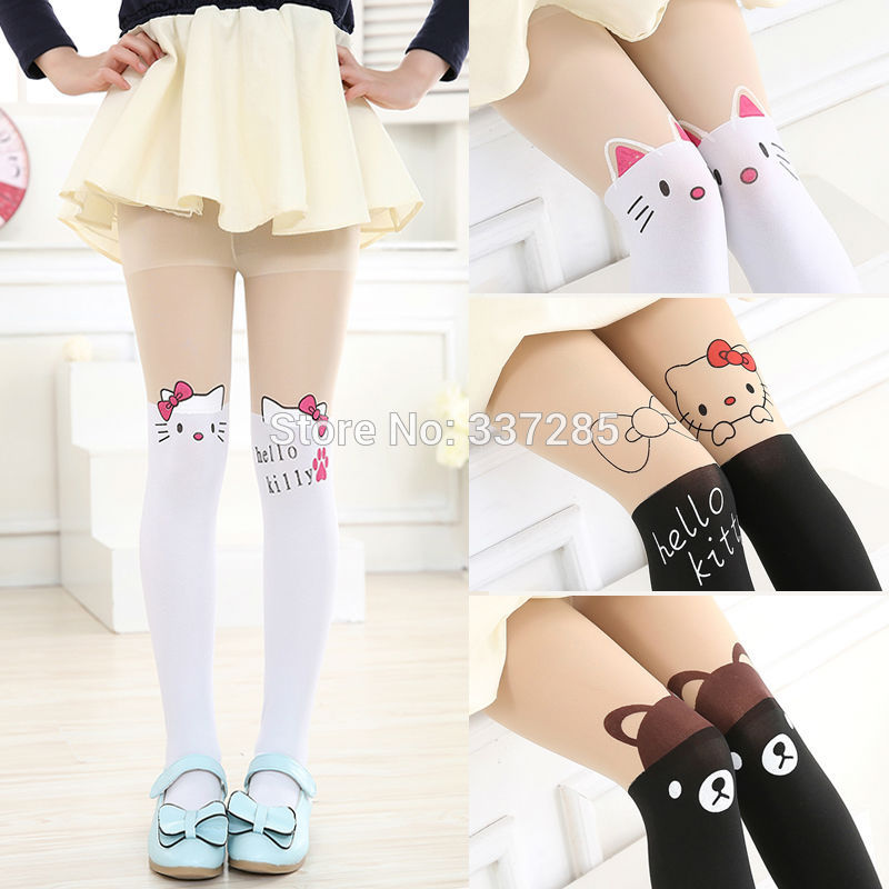 New Free Shopping Children Baby Kids Girls Tights Cute