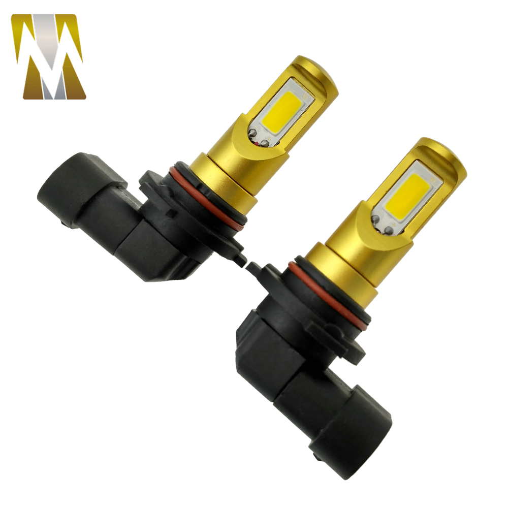 2pcs lot High power super bright car fog light 9006 HB4 socket LED fog font b