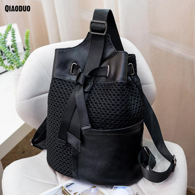 Hot Selling Travel Backpack Women Black Leather Backpack Brand Sac A Dos Female Backpack Small Teenage Girl Backpacks backpack women 2017 newest stylish cool faux suede small backpack female hot selling women bag sac a dos rugzak fast shipping