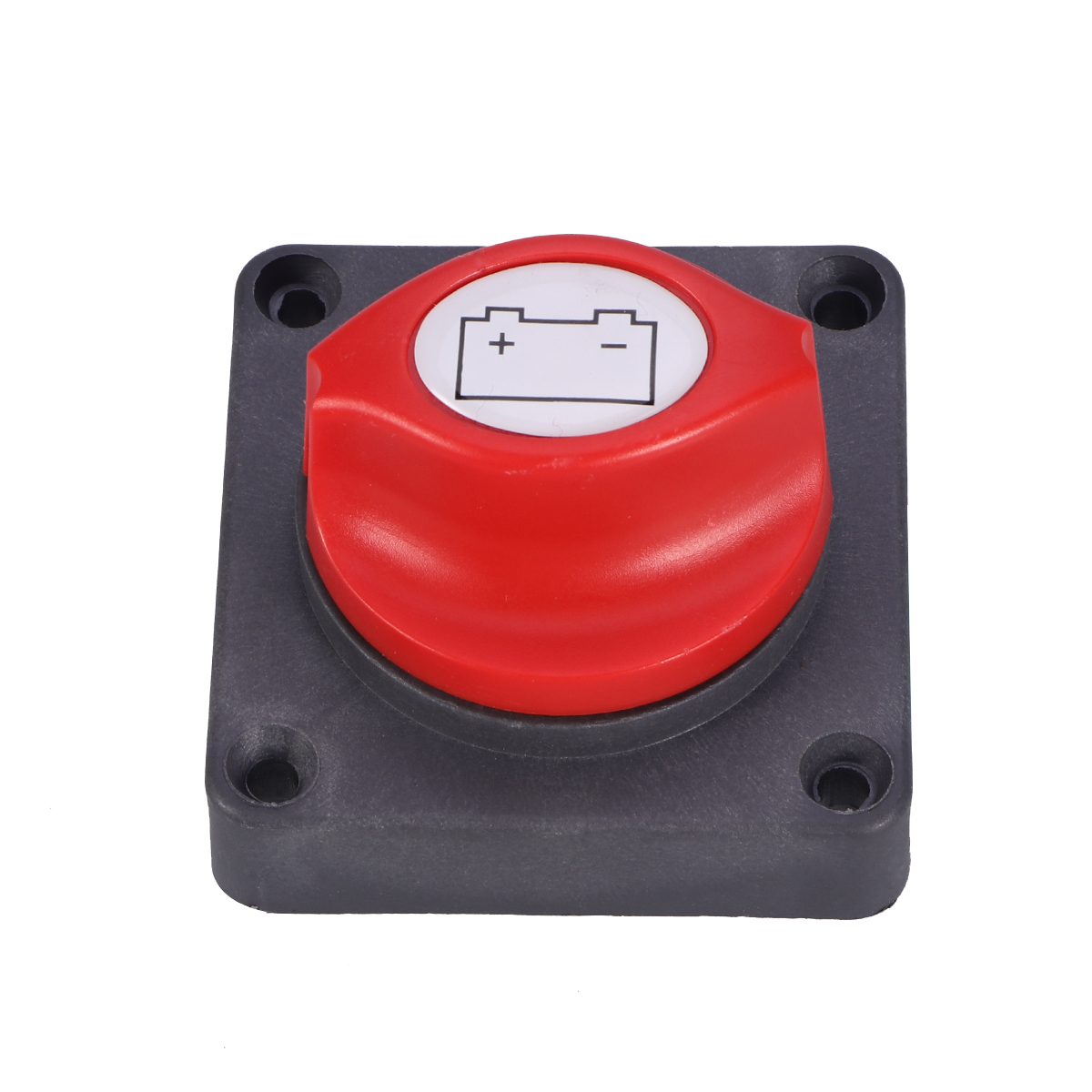 Universal Battery Isolator Master Cutoff Cut Off Power Kill Switch 12V/24V Waterproof Cover for Auto Car Truck Boat