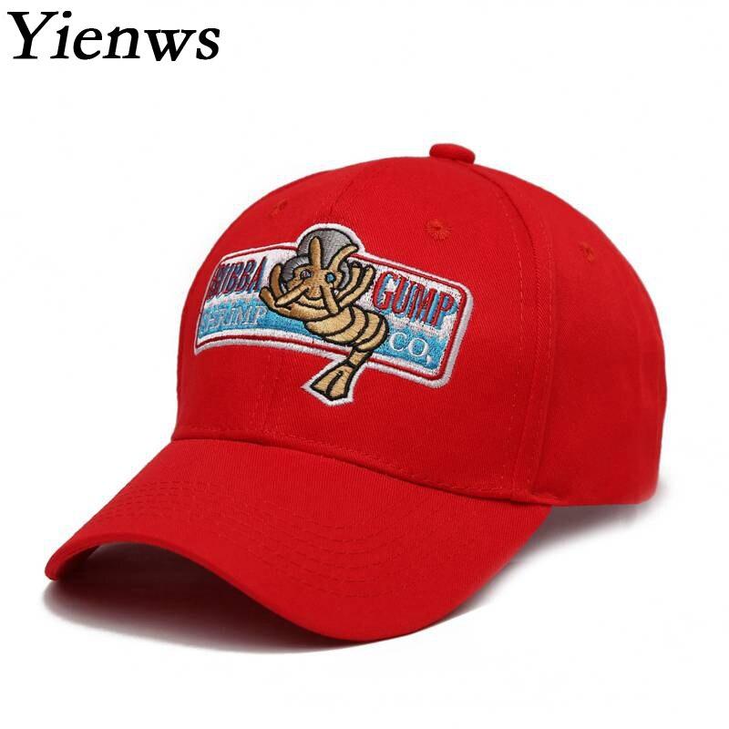 Prix pour Yienws hommes casquette de baseball snapback pour homme os bord bouchon courbe chapeau de bande dessinée gump d'été chapeau de camionneur yh244