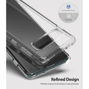 Image 3 - Fusion Ringke pour Galaxy S10 étui en Silicone souple en polyuréthane et coque arrière rigide transparente hybride