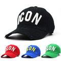 100% Cotton men brand luxury cap dsq icon cap Outdoor sports mens casual dsq2 hats Adjustable Snapback cap visor hats