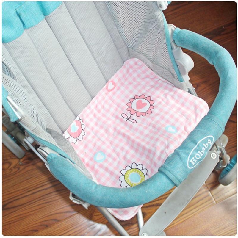 5pcs 24 35 Printed Diapers Children Cloth Diaper Baby Stroller Pram Waterproof Bed Reusable Nappy Sheet