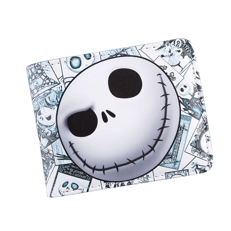 2017 American Movie The Nightmare Before Christmas Anime Wallets Men Short Leather Purse Undertale Game Bifold 3D Prints Wallets before the incal