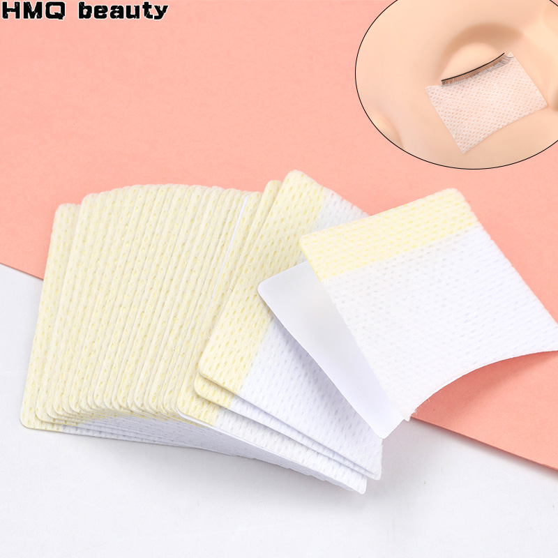 40Pcs/bag Cotton Disposable Eyelash Extension Patch Sticker For Removing Eyelashes Eye Pads Patches For Makeup Tool
