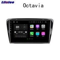 Liislee 2 din для Skoda Octavia 2010 ~ 2014 навигационная система для Android gps большой экран стерео Мультимедийный плеер Видео Радио Bluetooth