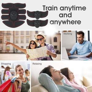 Тренажер для сжигания жира, электрический стимулятор мышц для тренировок в тренажерном зале, умный стимулятор мышц, инструмент для брюшной полости, стимулятор мышц