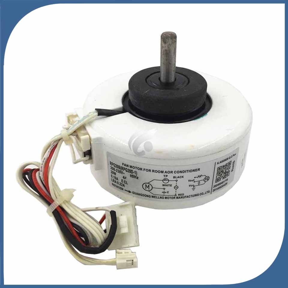new good working for Air conditioner machine motor RPG20B (RPG20D-1) = RPG20E (RPG20D-2) Motor fannew good working for Air conditioner machine motor RPG20B (RPG20D-1) = RPG20E (RPG20D-2) Motor fan