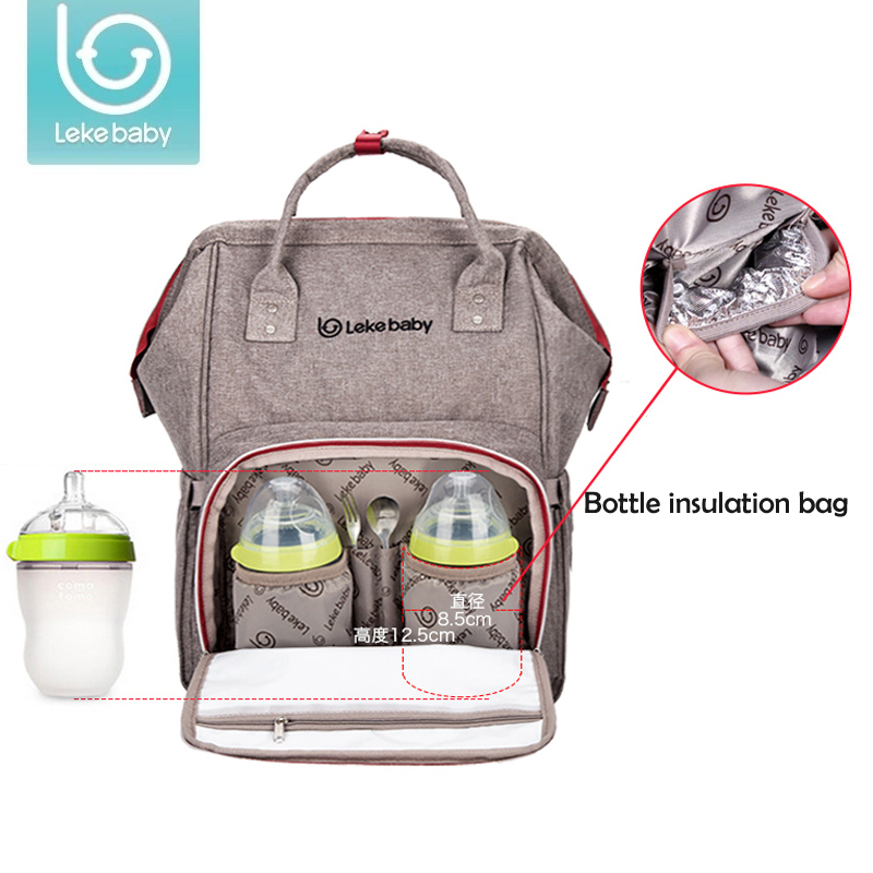 New Lekebaby Mummy Maternity diaper bag stroller Nappy Bag Large Capacity Baby Bag Travel Backpack Nursing Bag for Baby Care baby diaper bag waterproof nursing bag for stroller large capacity maternity bag travel backpack baby care