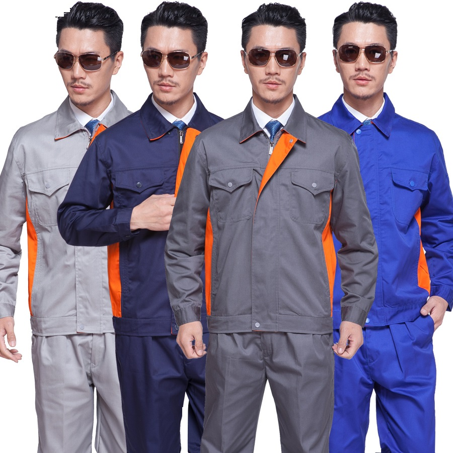 10 Set Factory Long-sleeve Work Wear Set Male Clothing Work Clothes Workwear Maintenance Work Clothes Engineers Uniform Full Set