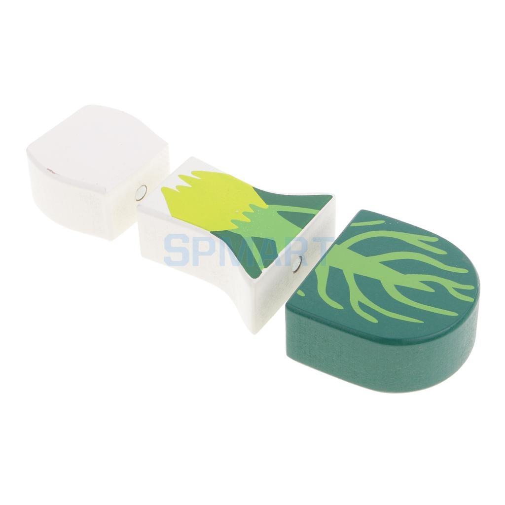 comida de juguete verde vegetal de cocina juegos de imaginacin cocina juego de nios juguetes de madera educativos