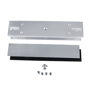 Image 5 - 180kg/280kg Magnetic lock U /L / LZ shape bracket 350lbs/600lbs frameless glass door for Access Control Security lock System